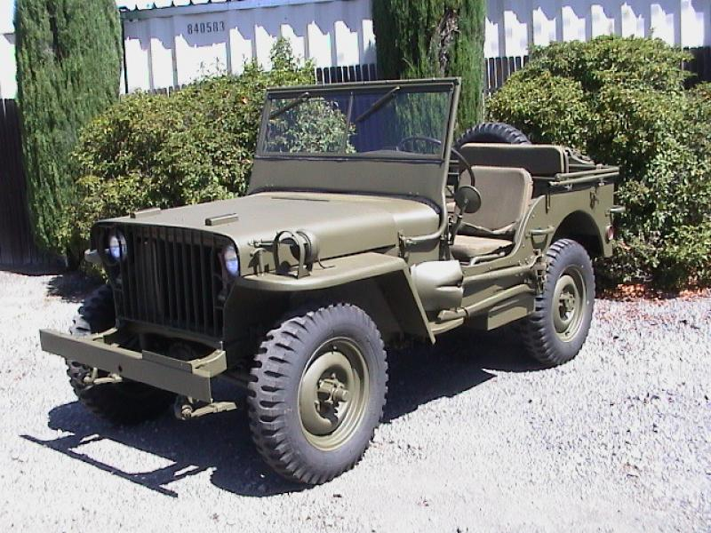 classic military automotive 1941 willys slat grill dod 12 4 4 25000 sold 22000. Black Bedroom Furniture Sets. Home Design Ideas