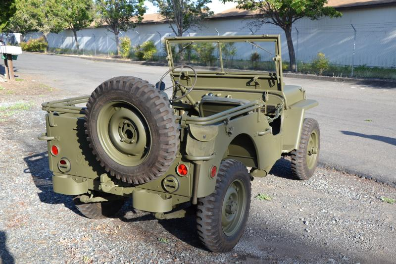 Classic Military Automotive » 1942 FORD GPW SCRIPT JEEP MAY 1942