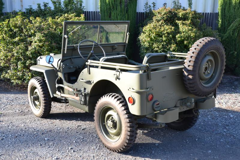 Classic Military Automotive 187 1942 Ford Gpw Script Jeep