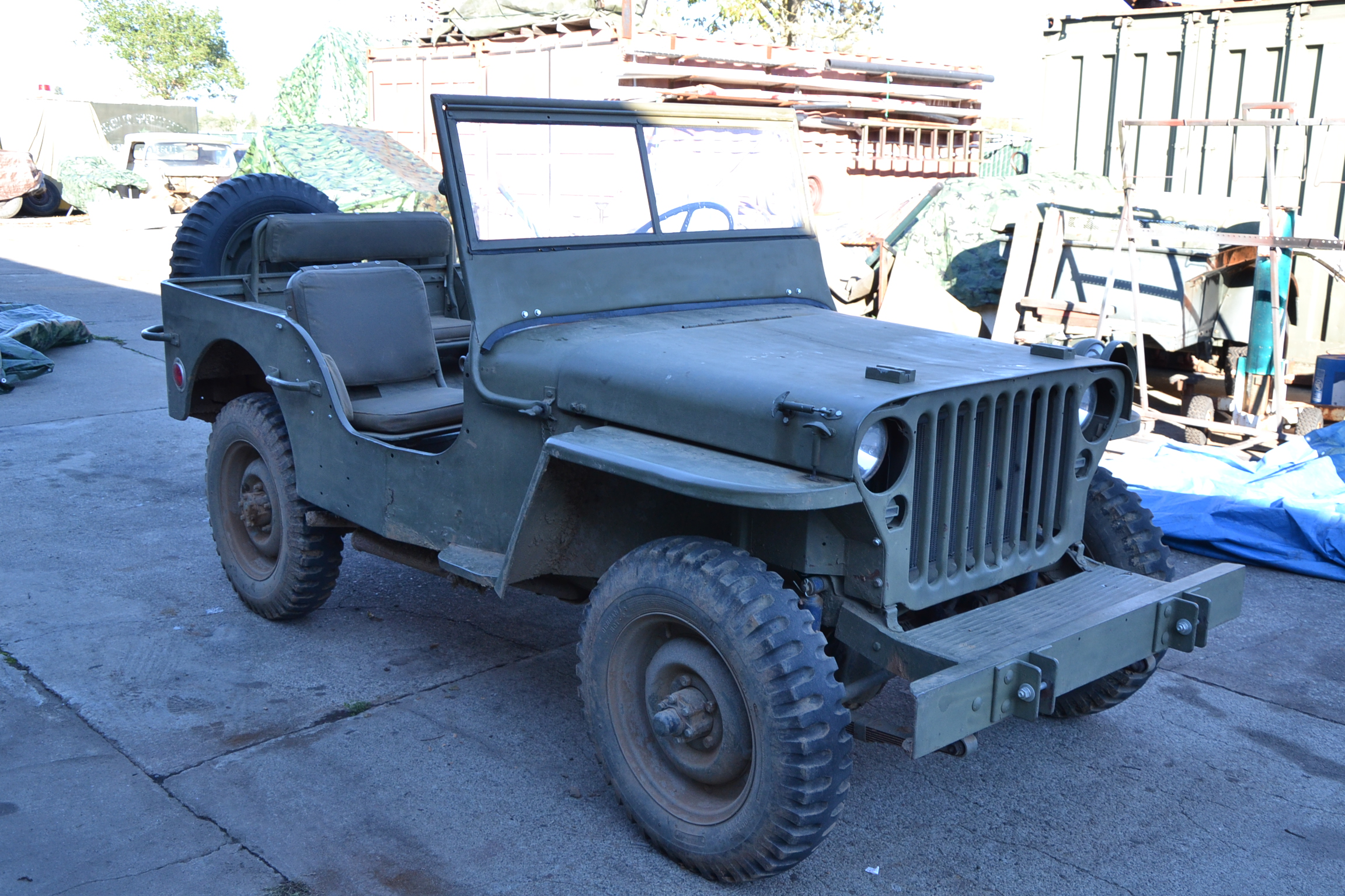 Classic Military Automotive 1942 Willys Mb Jeep 8000 Traded