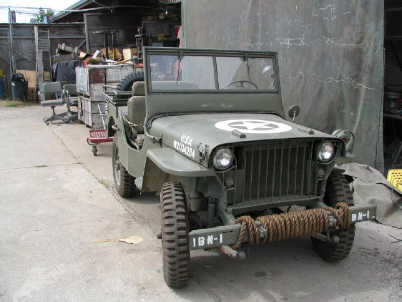 Classic Military Automotive 187 1942 Willys Mb Slat Grill