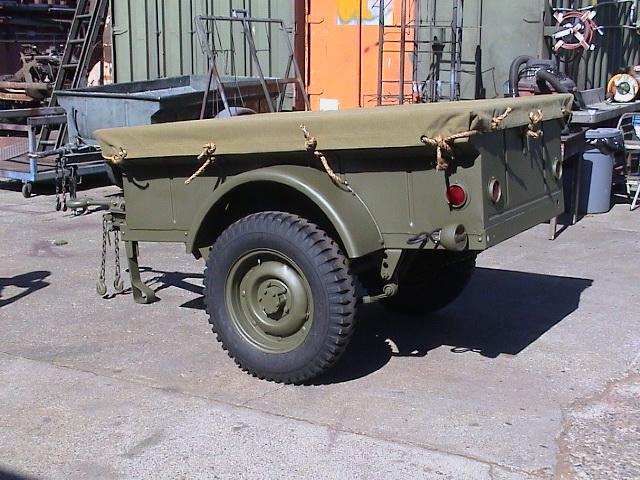 Classic Military Automotive » 1943 Bantam T3C WW2 Trailer ...