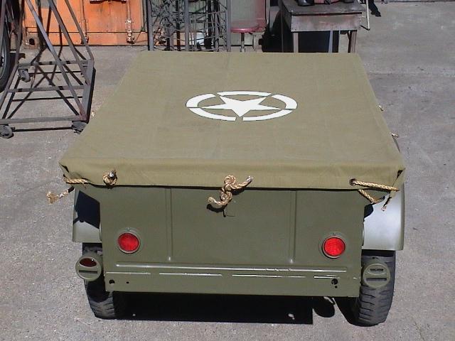 Classic Military Automotive 187 1943 Bantam T3c Ww2 Trailer