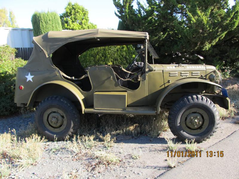 Classic Military Automotive 187 1943 Wc 56 Dodge Command Car