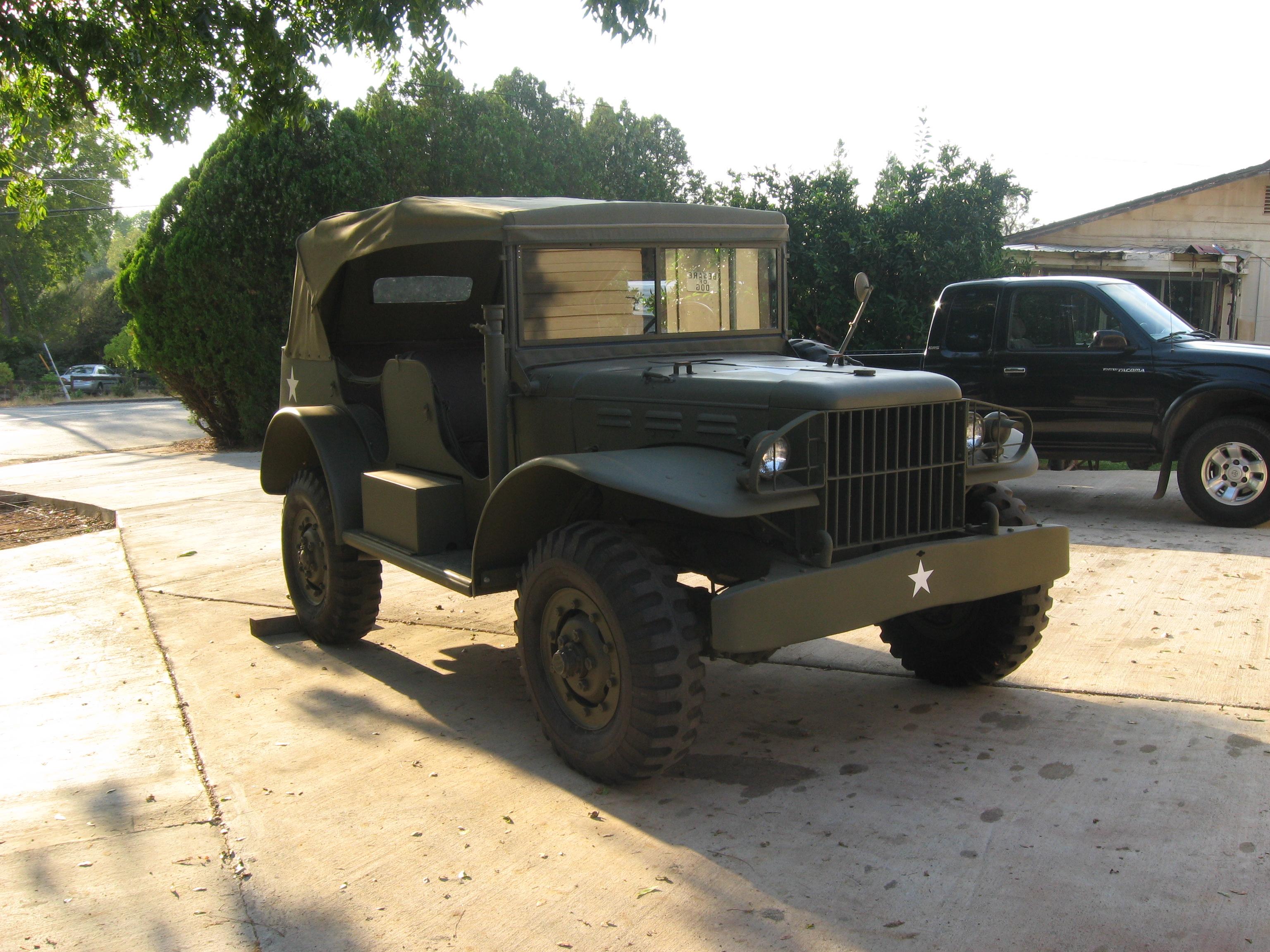 Classic Military Automotive » 1944 WC 56 Dodge Command Car ...