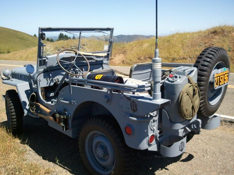 Classic Military Automotive 187 1944 Willys Mb Navy Jeep