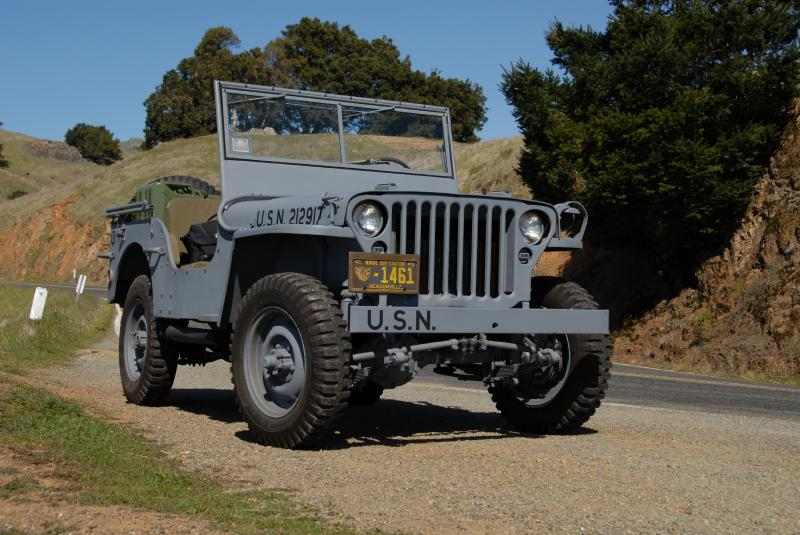 Clic Military Automotive » 1944 Willys MB Navy Jeep Restoration