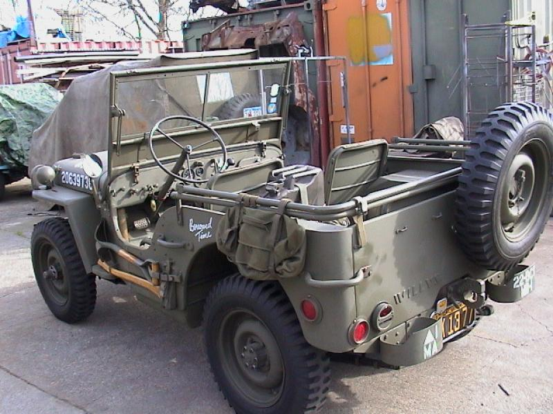 Classic Military Automotive » 1945 WILLYS MB JEEP SCRIPT ...