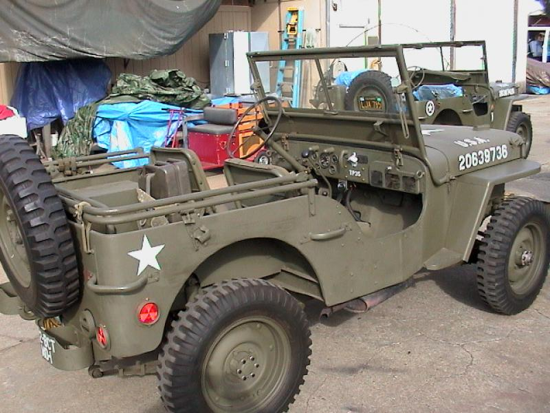 classic military automotive 1945 willys mb jeep script rear end 15 500 sold for 14 000. Black Bedroom Furniture Sets. Home Design Ideas