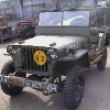 1945 Willys MB Jeep Script Rear Panel $15,500 SOLD for $14,000