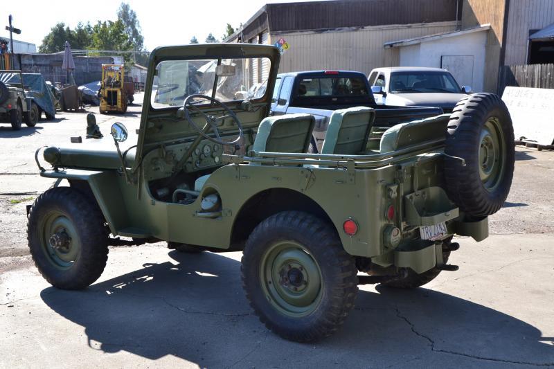 Dsc on 1951 Willys Jeep M38