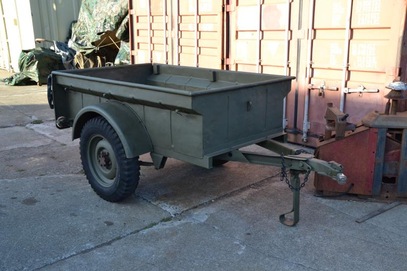 Military Jeeps For Sale >> Classic Military Automotive » Bantam Civilian Jeep Trailer - Post WW2 (SOLD for $1000)