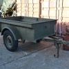 Bantam Civilian Jeep Trailer - Post WW2 **SOLD for $1000