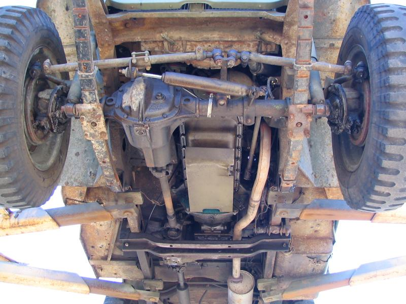 Willys Jeeps For Sale >> Classic Military Automotive » 1942 Ford GPW Script Frame ...